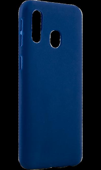 Чехол-крышка LuxCase для Galaxy A40, термополиуретан, синий фото