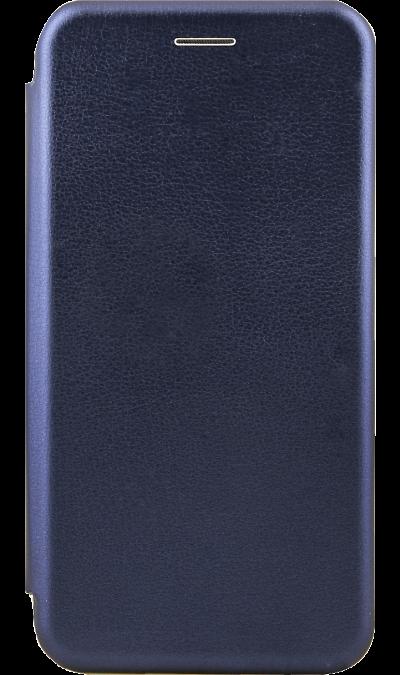 Чехол-книжка Deppa для Huawei P Smart (2019), полиуретан, синий