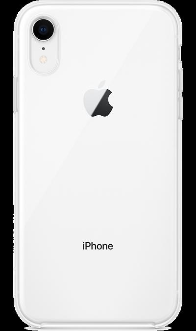 Чехол-крышка Apple для iPhone XR, силикон, прозрачный фото