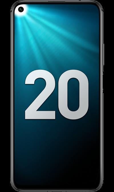 Смартфон Honor 20 6/128GB Полночный черный фото