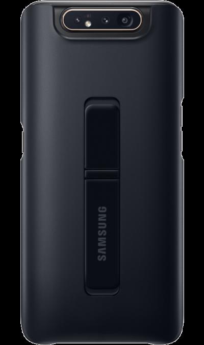 Чехол-крышка Samsung Standing Cover для Galaxy A80, поликарбонат, черный фото