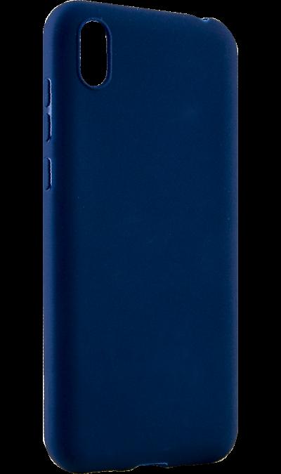 Чехол-крышка LuxCase для Huawei Y5 (2019), термополиуретан, синий фото