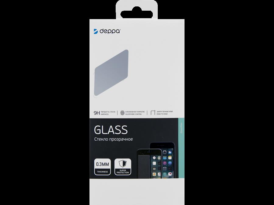 Защитное стекло Deppa для Huawei P Smart Z 3D Full Glue (черная рамка)