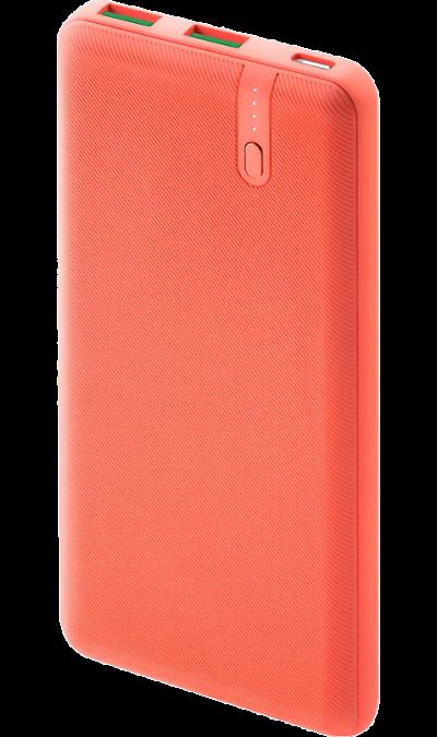 Аккумулятор InterStep PB1018PD, Li-Pol, 10000 мАч, оранжевый