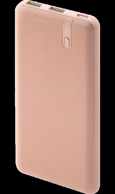 Аккумулятор InterStep PB1018PD, Li-Pol, 10000 мАч, розовый