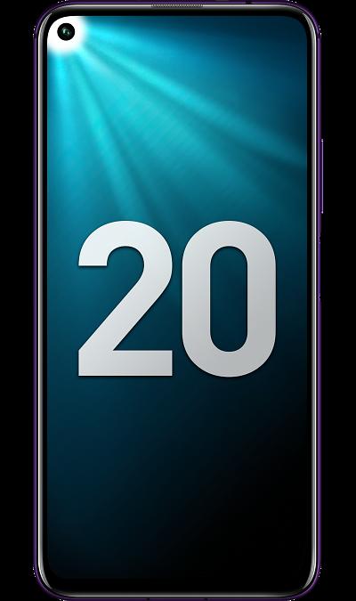 Смартфон Honor 20 Pro 8/256GB Black (Полночный черный) фото