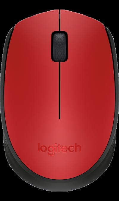 Мышь Logitech M171 (красная)
