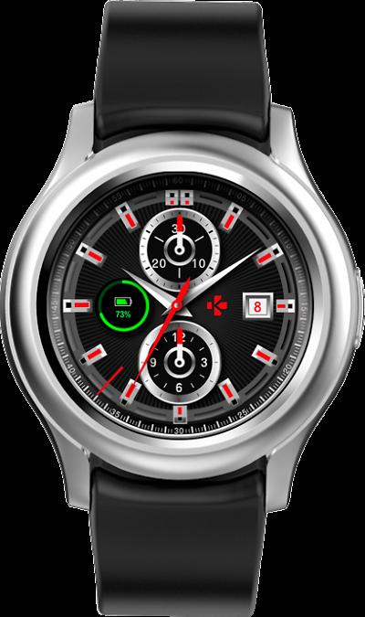 Часы MyKronoz ZeRound 3 (silver)