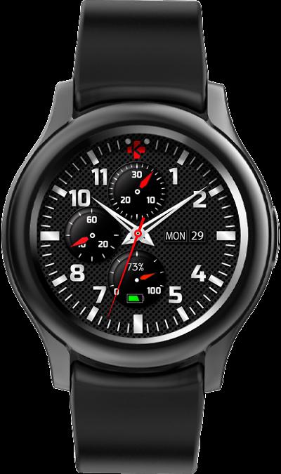 Часы MyKronoz ZeRound 3 (black) фото