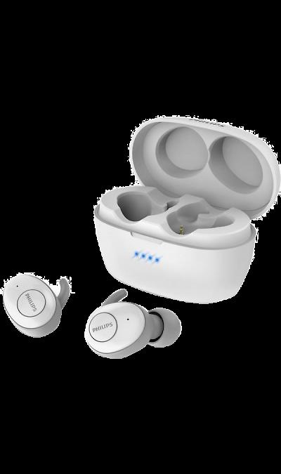 Беспроводные наушники UpBeat Philips SHB2505WT белые