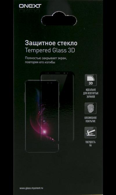 Защитное стекло One-XT для Xiaomi Redmi Note 7 3D Full Glue (чёрная рамка) фото