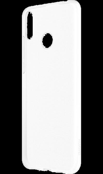 Чехол-крышка Deppa для Honor 8A/Huawei Y6 (2019), силикон, прозрачный  - купить со скидкой