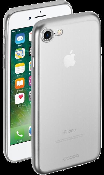 Чехол-крышка Deppa для Apple iPhone 7/8, силикон, прозрачный фото