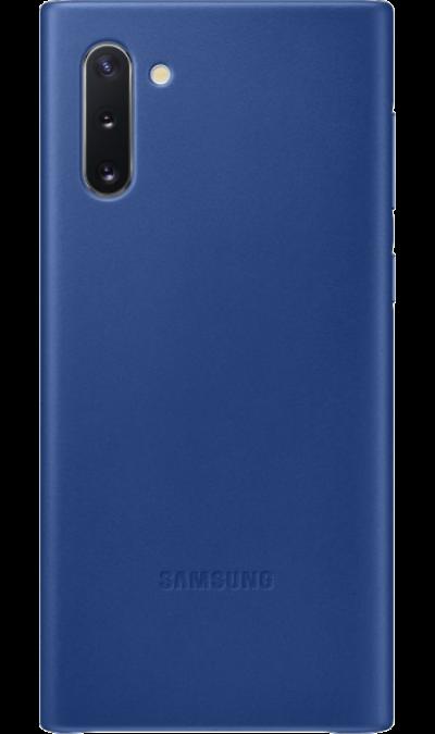Чехол-крышка Samsung VN970LLEGRU Leather Cover для Galaxy Note10, кожа, синий фото