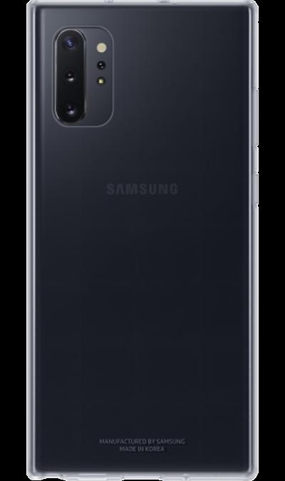 Чехол-крышка Samsung QN975TTEGRU Clear Cover для Galaxy Note10+, полиуретан, прозрачный фото
