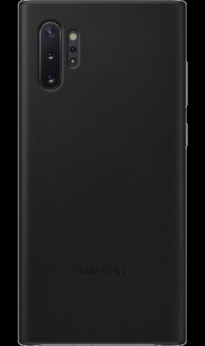 Чехол-крышка Samsung VN975LBEGRU Leather Cover для Galaxy Note10+, кожа, черный фото