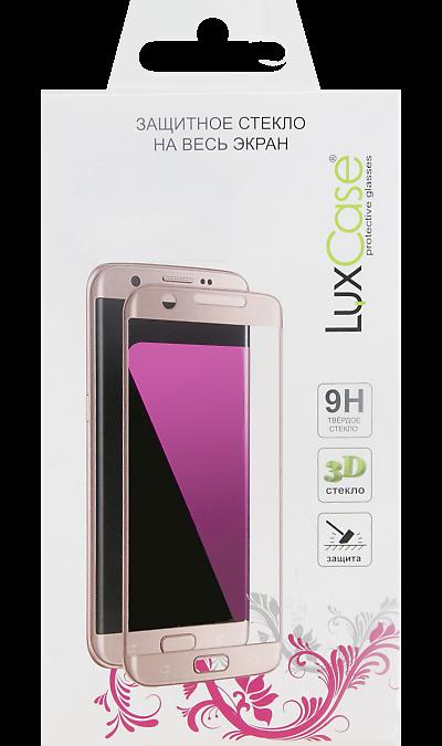 Защитное стекло LuxCase для Huawei Y7 (2019) 3D Full Glue (черная рамка) фото