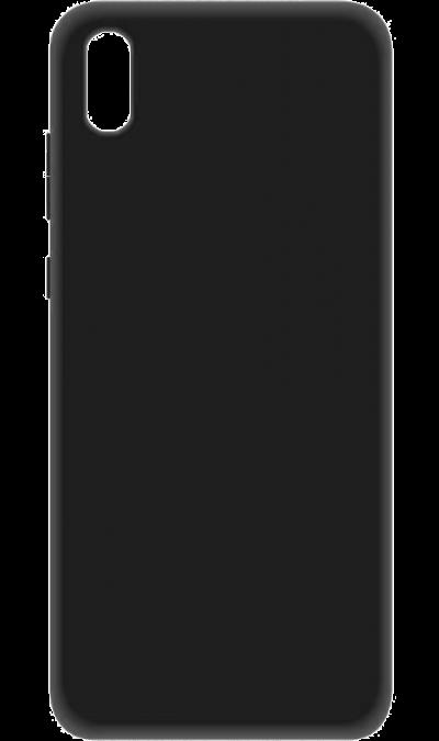 Чехол-крышка New Level для Huawei Y5 (2019), термополиуретан, черный фото