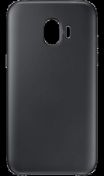 Чехол-крышка New Level для Samsung Galaxy J2 Core, полиуретан, черный фото