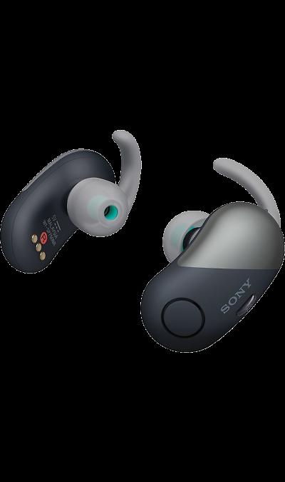 Bluetooth-гарнитура Sony WF-SP700N (черная)