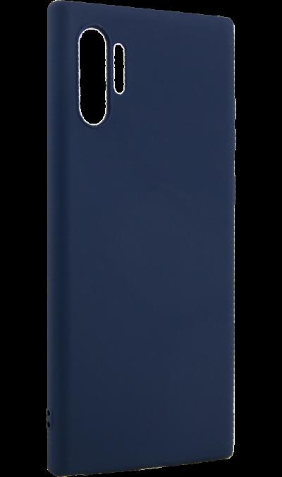 Чехол-крышка Deppa для Samsung Galaxy Note10+, термополиуретан, синий фото