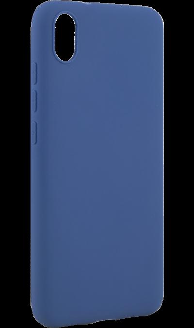 Чехол-крышка New Level для Xiaomi Redmi 7A, силикон, синий фото