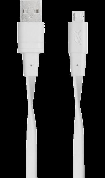 Кабель RIVACASE VA6000 WT12 micro USB (белый)