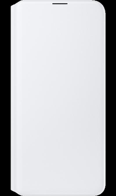 Чехол-книжка Samsung WA307PWEGRU для Galaxy A30s, полиуретан, белый фото