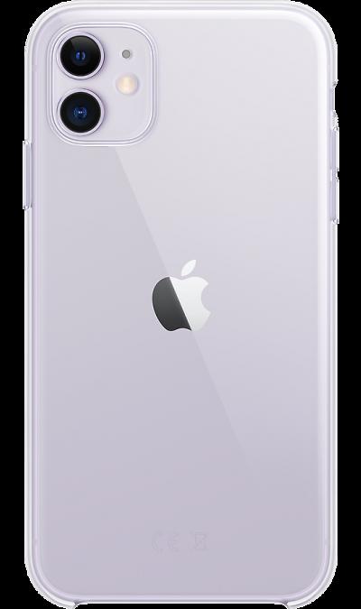 Чехол-крышка Apple MWVG2ZM для iPhone 11, поликарбонат, прозрачный фото
