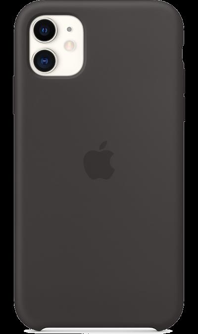 Чехол-крышка Apple MWVU2ZM для iPhone 11, силикон, черный фото