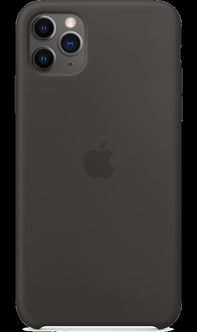 Чехол-крышка Apple для iPhone 11 Pro Max, силикон, черный фото