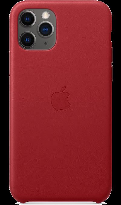 Чехол-крышка Apple для iPhone 11 Pro, кожа, красный фото