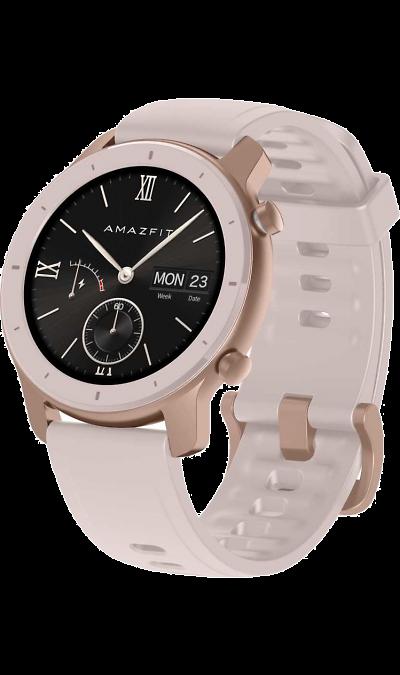 Умные часы Amazfit GTR 42мм (розовые) фото