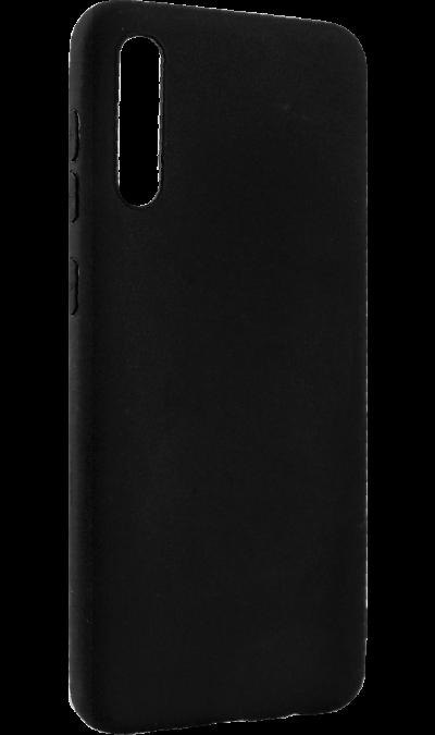 Чехол-крышка New Level для Galaxy A50, полиуретан, черный фото