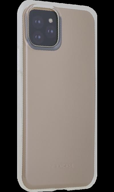 Чехол-крышка Miracase MP-8027 для Apple iPhone 11 Pro, полиуретан, прозрачный фото