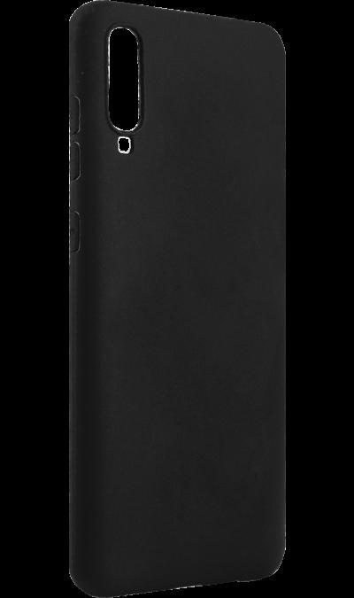 Чехол-крышка New Level для Samsung Galaxy A70, силикон, черный фото
