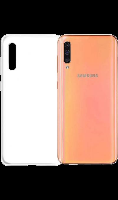 Чехол-крышка LuxCase для Samsung Galaxy A30s, полиуретан, прозрачный фото