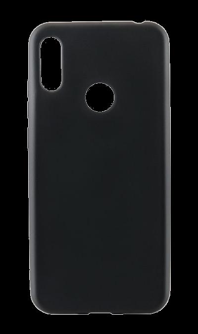 Чехол-крышка New Level для Honor 8A/Huawei Y6 (2019), полиуретан, черный фото