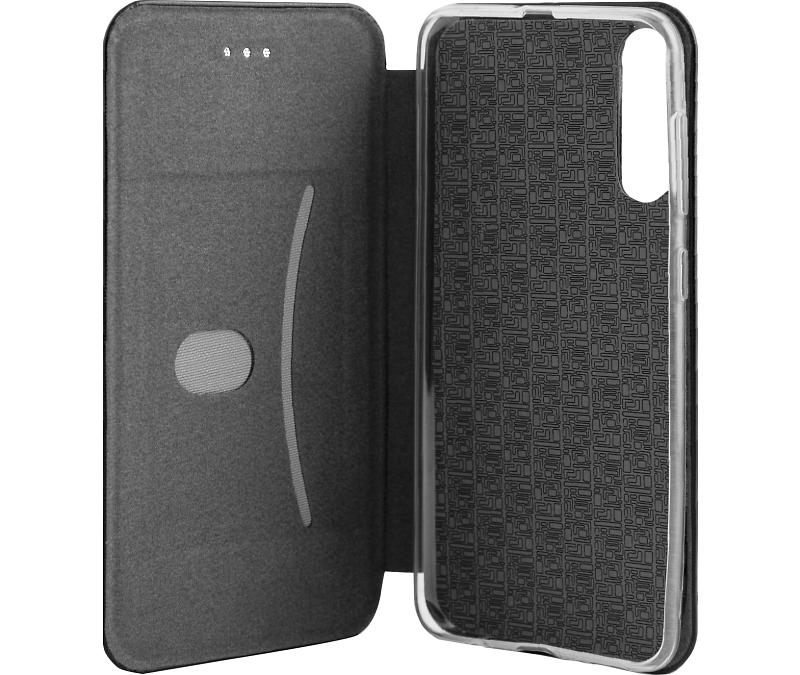 Чехол-книжка Deppa для Samsung Galaxy A30s/A50s, полиуретан, черный