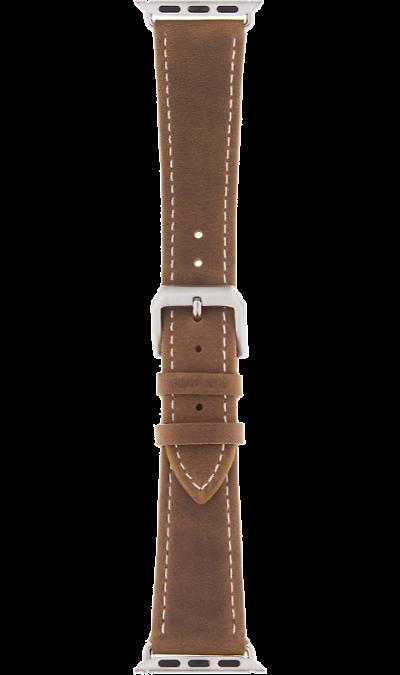 Ремешок InterStep Classic дляApple Watch 42/44mm, кожа, коричневый