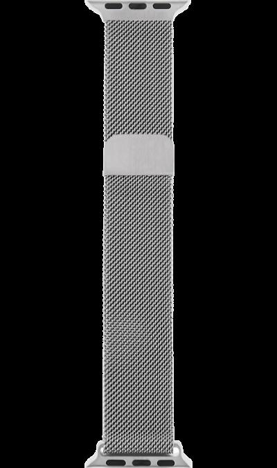 Ремешок InterStep Mesh дляApple Watch 42/44mm, сталь, серебристый