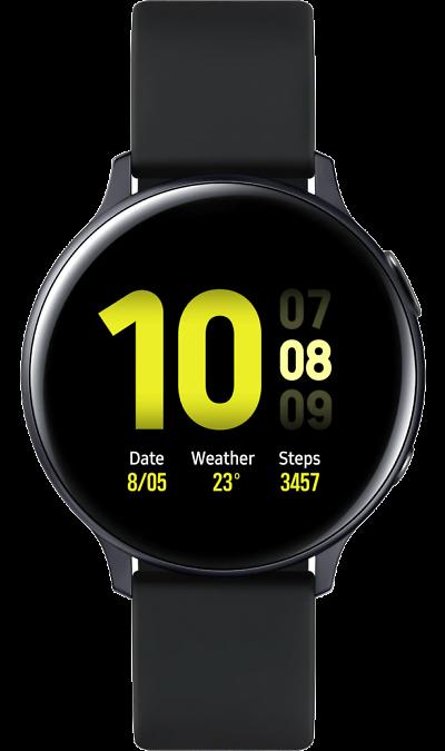 Часы Samsung Galaxy Watch Active2 алюминий 40 мм (лакрица) фото