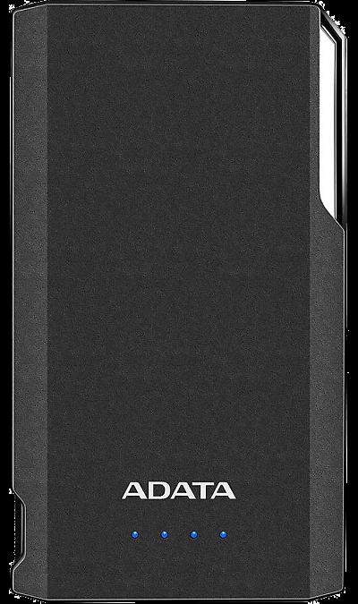 Аккумулятор ADATA S10000, Li-Pol, 10000 мАч, чёрный