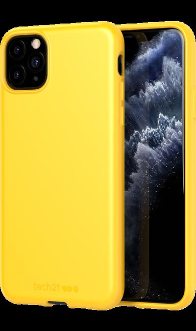 Чехол-крышка Tech21 Studio Colour для iPhone 11 Pro Max, полиуретан, жёлтый фото