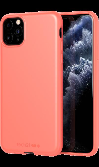 Чехол-крышка Tech21 Studio Colour для iPhone 11 Pro Max, полиуретан, коралловый фото