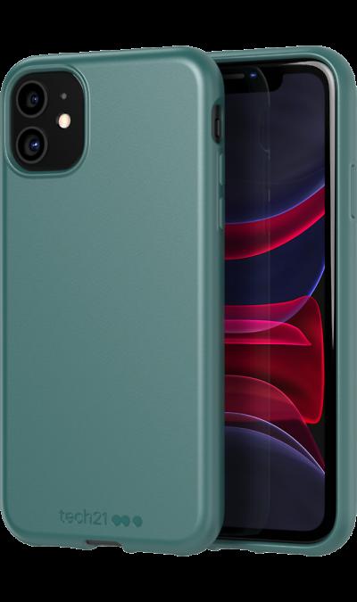 Чехол-крышка Tech21 Studio Colour для iPhone 11, полиуретан, зелёный  - купить со скидкой