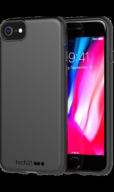 Чехол-крышка Tech21 Studio Colour для iPhone 6 / 7 / 8, полиуретан, чёрный фото