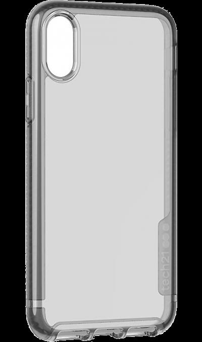 Чехол-крышка Tech21 Pure Tint для Apple iPhone X / XS, пластик, карбон фото