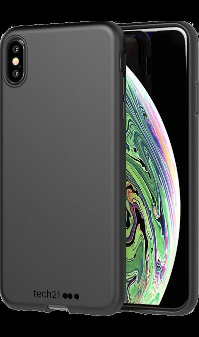 Чехол-крышка Tech21 Studio Colour для iPhone XS Max, полиуретан, чёрный фото