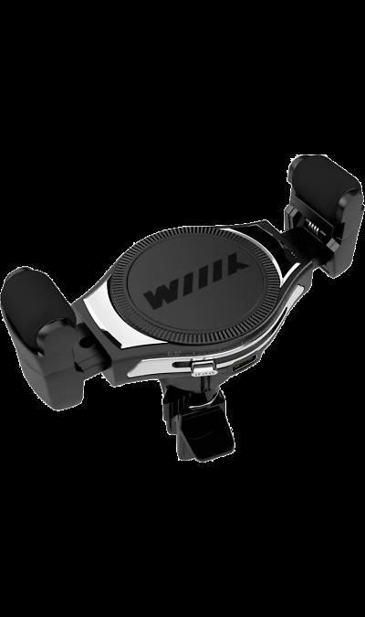 Держатель в автомобиль Wiiix HTW-54V6 Qi с беспроводной зарядкой, на решетку вентиляции фото